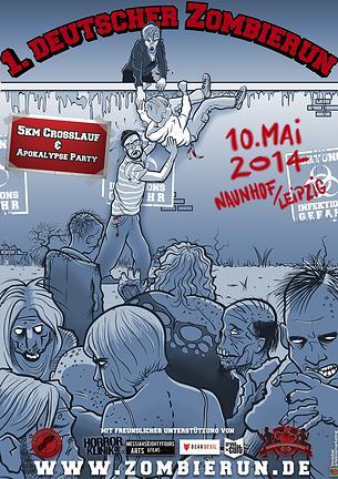 Zombie Run Plakat